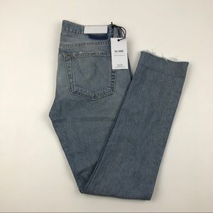 NWT RE/DONE low rise skinny Distressed Jeans